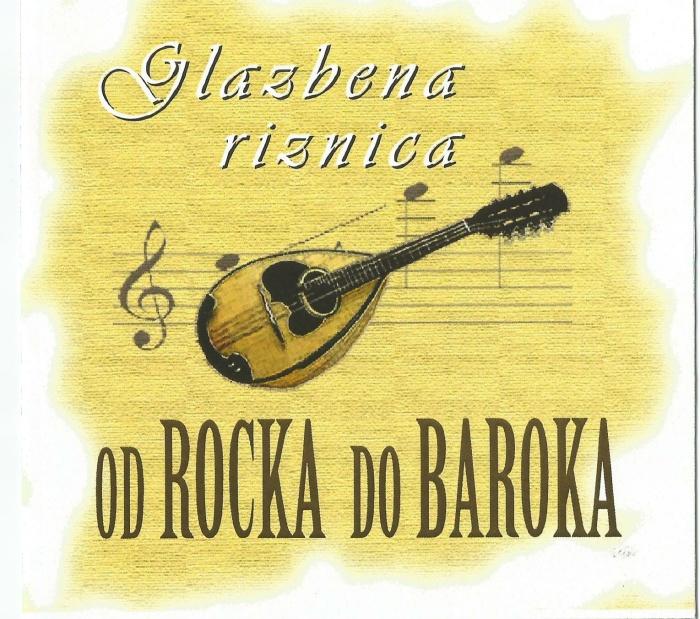 """Koncert mandolinskog sastava """"Od Rocka do Baroka"""""""
