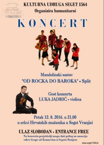 Najava koncerta